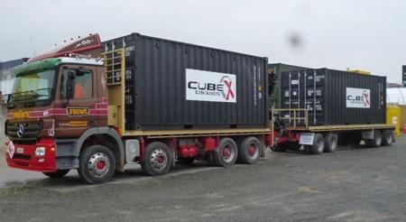 Container Cartage - Frews Transport